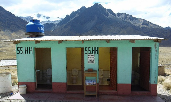 SSHH toilet in Peru