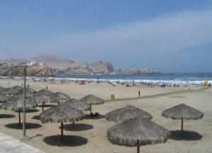 Santa María del Mar beach, Lima