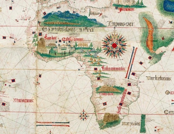 Cantino map of Africa, 1502