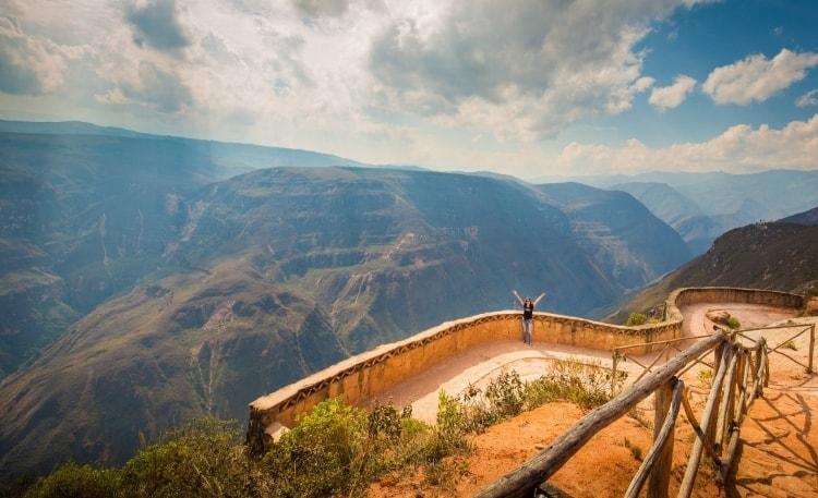 Canyon de Sonche, Peru