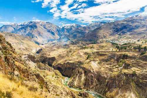 Colca Canyon - top 10 must see places in Peru