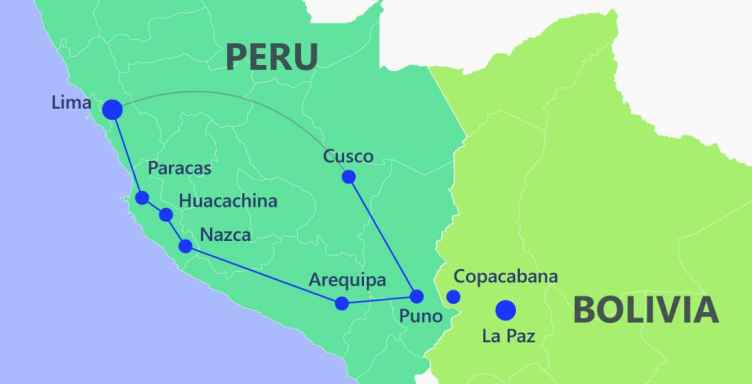 Gringo Trail - Peru travel itinerary