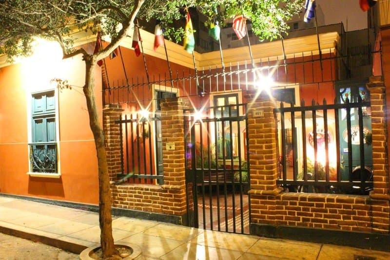 Best Hostels Lima - outside of kaclla hostel