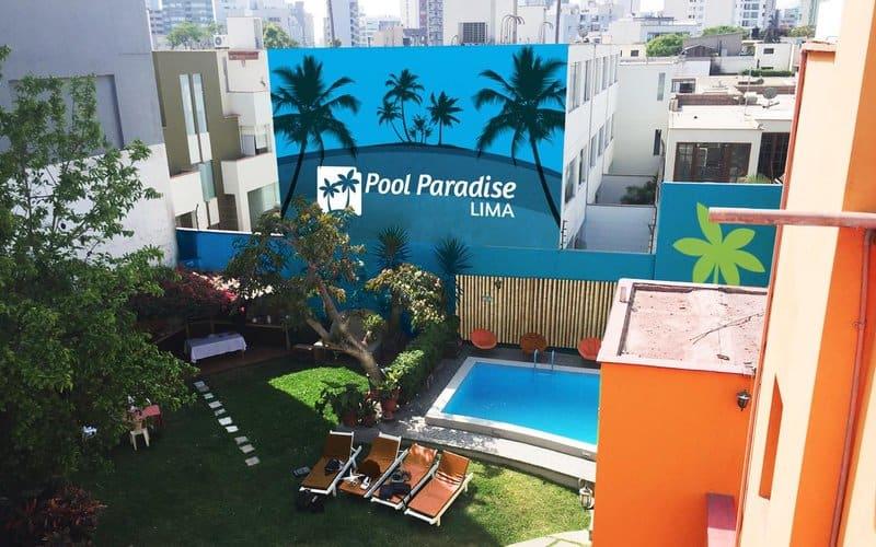 Best Hostels Lima - Pool Paradise Lima