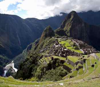 New Wonder of the World The Ancient Inca City of Machu Picchu