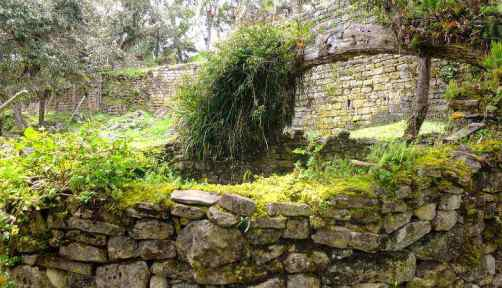 Historical Site of Kuelap in Chachapoyas Peru