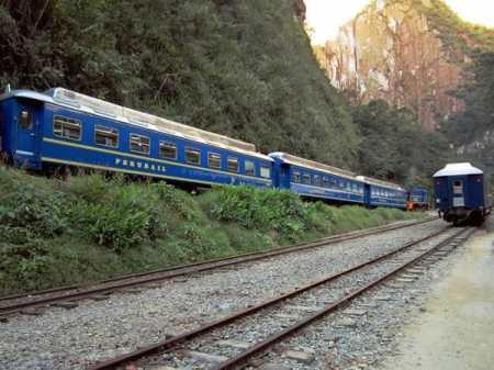 Train to Machu Picchu, the world wonder in Peru
