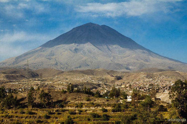 El Misti Arequipa Volcano