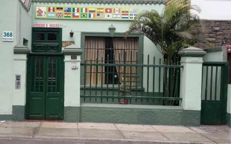 Friend's House Hostel in Lima Peru
