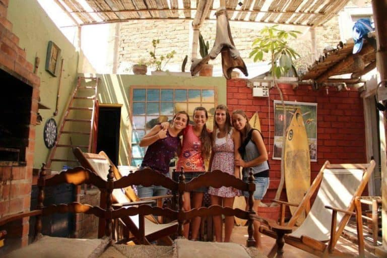 Blue House Hostel in Miraflores Lima Peru