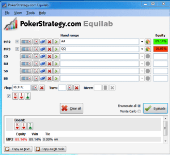Poker pot equity 2
