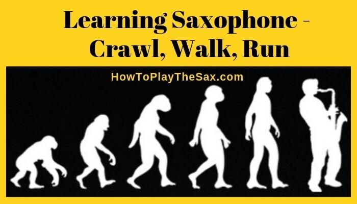 Learning Saxophone