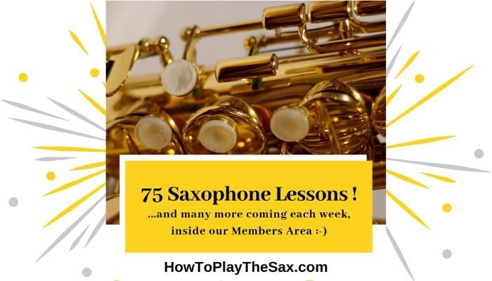 75 Video Sax Lessons