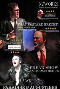 nuworks Theatre Edinburgh Fringe Festival 2019