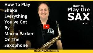 Shake Everything You've You've Got   Saxophone Lessons