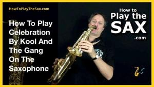Celebration Saxophone Lesson
