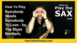 Everybody Needs Somebody Saxophone Lessons