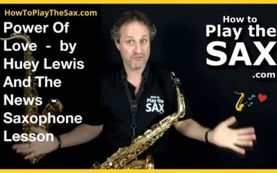 Power Of Love Saxophone
