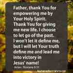 Prayer for empowerment
