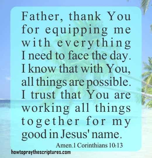 Father And Son Working Together Quotes: How To Pray To Be Equipped