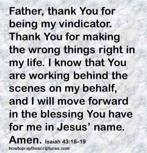 god makes things right isaiah 43-18-19