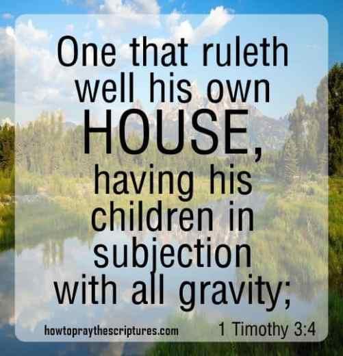 family encouragement verse