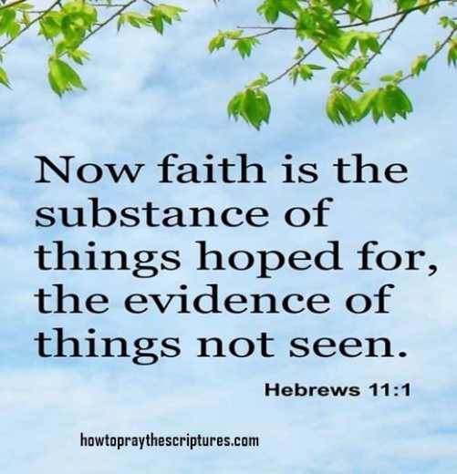 Faith inspirational bible verses