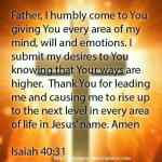 Prayer To Cast All Your Burdens On Christ