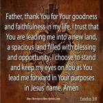 Prayer To Thank God for His Faithfulness