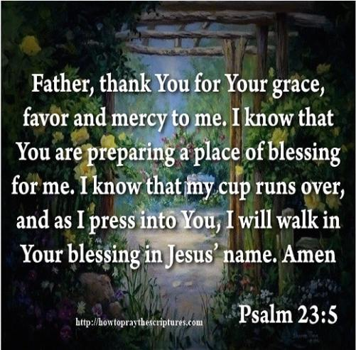 Pray For Gods Grace and Favor