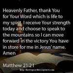 Prayer For Strength Today