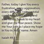 Father My Hope And Peace Are In You
