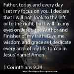 Prayer To Set My Eyes On Jesus