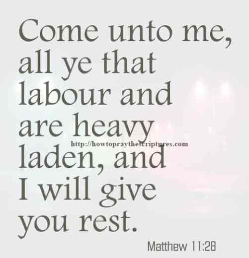 Scriptures When Grieving