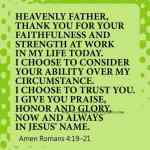 Prayer To Glorify God In Every Thing