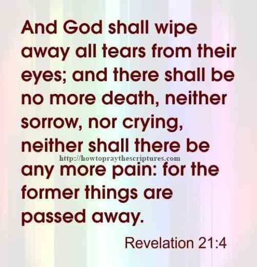 And God Shall Wipe Away Revelation 21-4