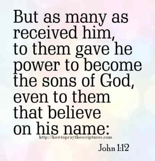 But As Many As Received Him John 1-12