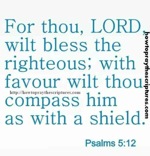 For Thou LORD Wilt Bless Psalms 5-12