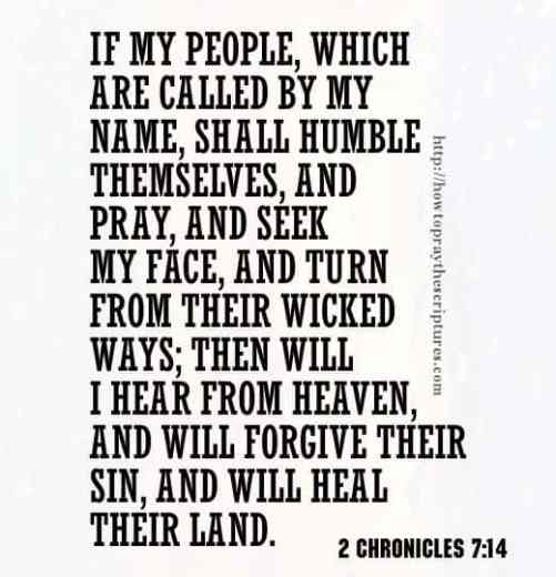 If My People Which Are Called By My Name