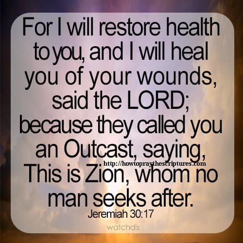 Verses In The Bible About Healing