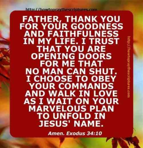 How To Pray For Gods Goodness And Faithfulness