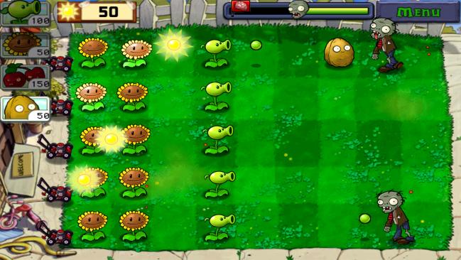 Plants vs Zombies Screen Shot 1