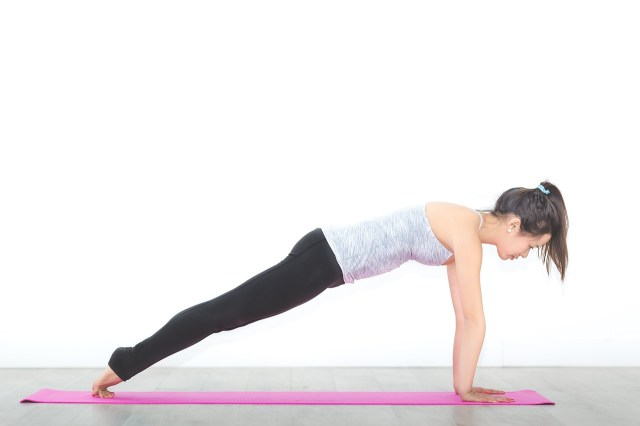 Yoga for Runners - Plank Pose
