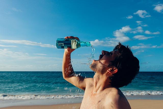 Comment courir en été - boire buvez