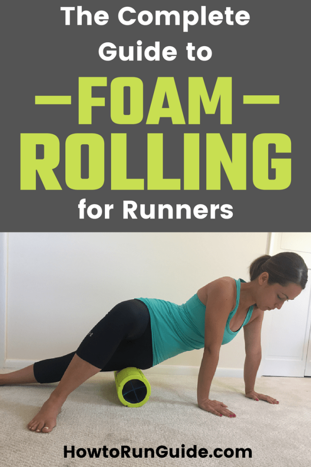 Foam Rolling for Runners - the comprehensive guide! Learn what moves to do, why, and which foam rollers are the best. #running #runningtips