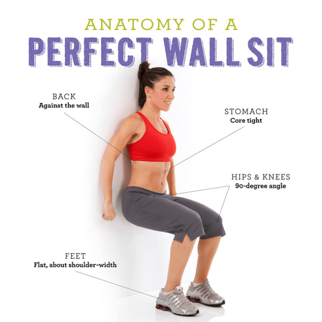 How to Prevent Runners Knee - Wall Sit