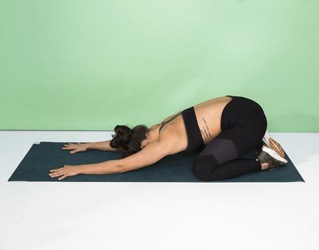 Stretching Exercises-Child's Pose