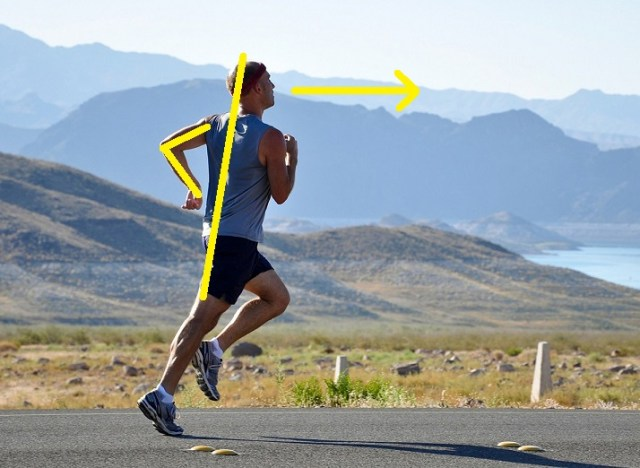 Proper Running Form Tips - Arm Swing