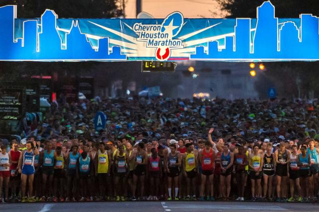 Boston Qualifying Marathons - Houston Marathon