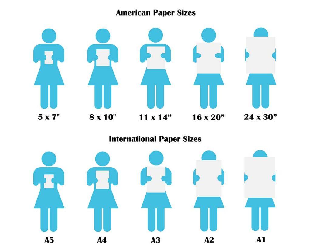 what size art prints